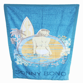 printed beach towel(The daughter of the sea)