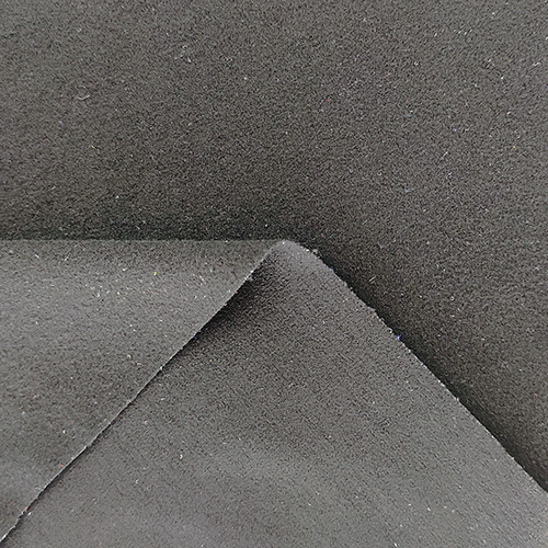 cotton like knitted suede fabric