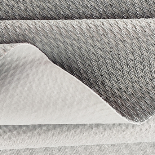 What is weft knitted fabric?